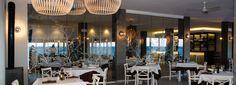 Perspectiva general restaurante Bellavista. #carmaninteriorismo, #proyecto, #diseño, #interiorismo, #restaurante, #mojacar