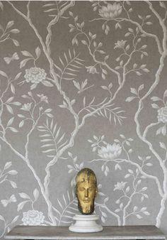 Jasper Peony Wide Width Wallpapers