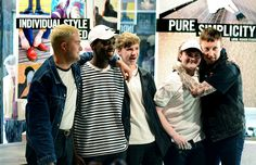 Slaves and fans at the in-store meet and greet in Derby Dr. Martens store. Photographed by Mark Richards.