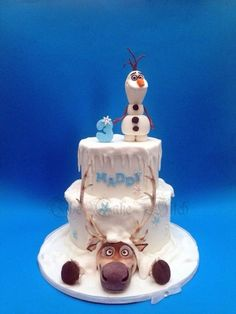 Sven and Olaf by Nessie - The Cake Witch