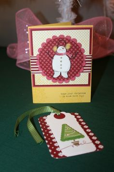 2012 Christmas Cards and Tags Class
