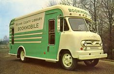 Bolivar County bookmobile Never lived in Bolivar County, but always looked forward with great anticipation to the arrival of the bookmobile when I was a kid.