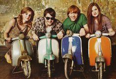 Emma, Daniel, Rupert & Bonnie