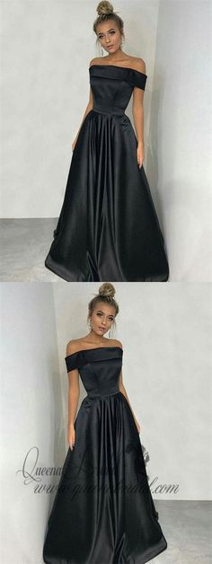 Buy Simple Black A-line Off the Shoulder Satin Prom Dresses, Long Party Dresses uk in uk.Rock one of the season's hottest looks in a burgundy homecoming dress or choose a timeless classic little black dress. Party Dresses Uk, Prom Dresses For Teens, Prom Dresses 2018, Black Prom Dresses, Cheap Prom Dresses, Trendy Dresses, Occasion Dresses, Evening Dresses, Formal Dresses