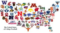 College Football Logos | of College Football - Page 2 - Concepts - Chris Creamer's Sports Logos ...