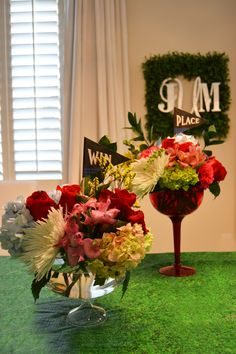 Kentucky Derby Party & FREE Printables   The MIAMI Rose   Centerpieces and Flower Arrangements