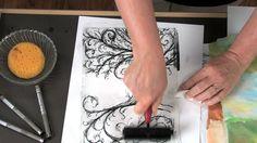 Papier Collé Printmaking - Lesson Plan