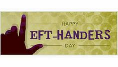 August 13th is International Left-Handers Day! #bowdown #southpaw
