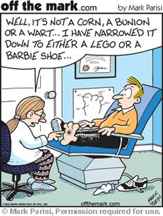 HA! I forgot all about Barbie shoes hurting. But, yes! Two of the most painful things to step on.