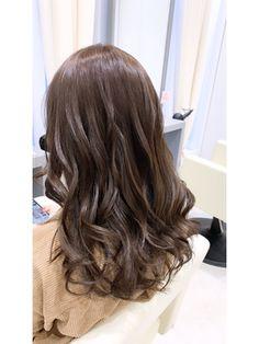 モテ髪【ラベンダーグレージュ】担当秋葉 Long Hair Styles, Beauty, Long Hairstyle, Long Haircuts, Long Hair Cuts, Beauty Illustration, Long Hairstyles, Long Hair Dos