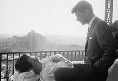 Robert Kennedy Conversing With  Edward Kennedy