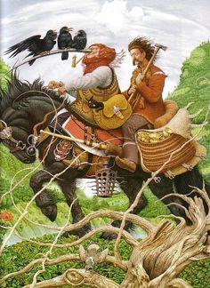 the-crows-nest:  Vasily-Sergeev  Illustration by Vladyslav Yerko