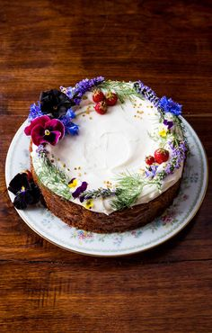 The prettiest cake in the display case at Milktooth in Indianapolis also happens to be gluten-free. Eat at will!