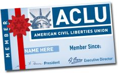 Give the Gift of an ACLU Membership