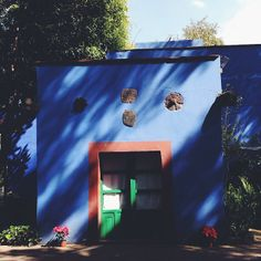 olive_austin | Casa Azul. | Webstagram