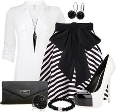 """""""Black and White"""" by angela-windsor on Polyvore"""