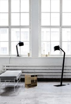Innolux Pasila floor lamp and table lamp - Pasila Design