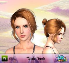 Starlet Hair by Newsea  http://www.thesimsresource.com/downloads/957155