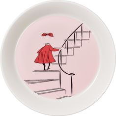 Ninny plate from Arabia's Moomin collection portrays Ninny, a shy and mistreated child who has turned invisible. The Moomin family takes Ninny into their home, and their kindness and caring make her slowly turn back visible. Moomin Mugs, Invisible Children, Classic Plates, Nordic Interior Design, Tove Jansson, Save The Children, Scandinavian Living, Little My, 7 And 7