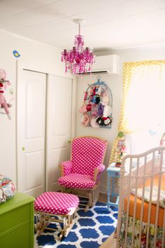 Project Nursery - Bright Colored Nursery