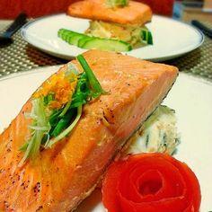 Baked Orange Miso Salmon