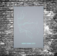 Plexiglas Berlin berlin city c4 acrylic glass subway maps u bahn karte