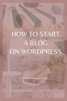 Make Money Blogging, How To Make Money, Build Your Own Website, Blogging For Beginners, How To Start A Blog, Wordpress