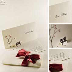 Inspiração | 8 modelos de convites românticos - Casando Sem Grana