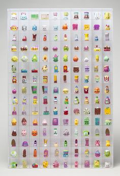 Awesome acrylic, display wall shelf for your Shopkins and other mini figures! http://www.amazon.com/dp/B01596UA7M
