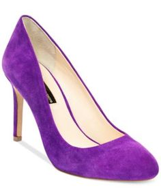 INC International Concepts Women's Bensin Rounded Toe Pumps, Only at Macy's