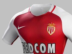 Camisas do AS Monaco 2016-2017 Nike 2