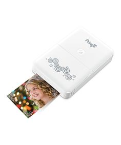I have this little printer and it's pretty cute and easy to use. But it does use an app to print, so you've got to be on wifi. :: Portable Pringo Photo Printer