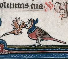 "Discarding Images on Twitter: ""Sweet kiss, breviary, France 13th century…"