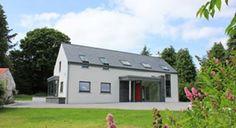 Modern farmhouse in Glenfarne, Co. Leitrim, designed by McCabe Architects Old Cottage, Cottage House Plans, Cottage Homes, Rural House, Irish Cottage, Bungalow House Design, Cottage Design, Bungalow Ideas, House Designs Ireland
