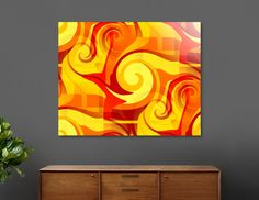 Discover «Autumn Colors Abstract», Numbered Edition Acrylic Glass Print by Sartoris ART - From $75 - Curioos