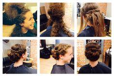 Updo by Jennifer! #updo #braids #prom