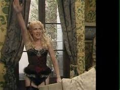 """""""Can I go to the bathroom"""" asks Kim Hartman Classic Girl, Classic Tv, Vicki Michelle, British Comedy Series, Celebrities In Stockings, Benny Hill, Dad's Army, Garters And Stockings, Broadway Plays"""