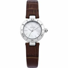 Oasis B1346 Ladies Brown Leather Strap Watch | WatchCorridor