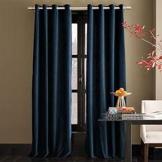 blue velvet panels...or our room?