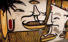 Mural by Thiago Alvim