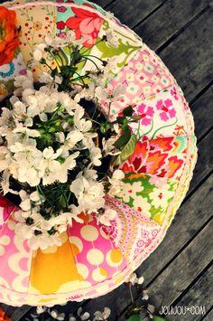 spring wreath of joy #tutorial #joy #farbenmix