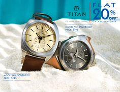 Avail your favourite watches at 20% off! Click here to buy now - http://bit.ly/1CjnhP9