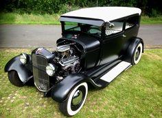 RodCityGarage: 1929 Ford Model A Tudor Sedan Hotrod