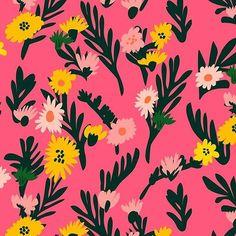 marieryyoung Wild Flowers for @printedvillage Fresh Flowers Design Challenge.  #surfacepatterndesign #patterndesign #flowerstagram #digitalillustration #vector #pvpics #surfacespatterns #floral #print #pattern