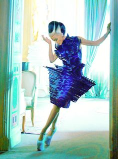 Daphne Guinness. Love her so much.