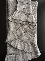 Let's learn how to knit? Kir Royale pattern by Melanie Berg. How exquisite!
