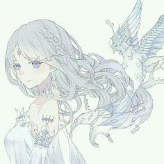 Anime Chibi, Chica Anime Manga, Manga Kawaii, Kawaii Anime Girl, Fan Art Anime, Anime Art Girl, Anime Girls, Pretty Anime Girl, Beautiful Anime Girl