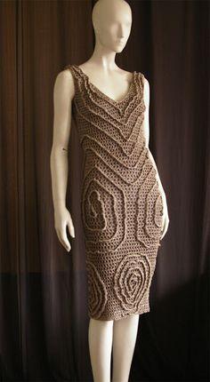 Sidney Artesanato: Moda verão...vestido chique.