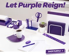 The color of royality #purple #workhappy