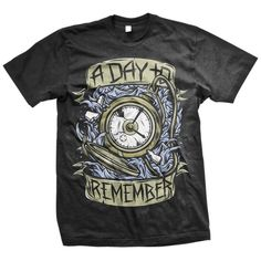 A Day To Remember Clocked Out T-Shirt
